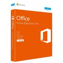 SOFTWARE OFFICE HOME AND BUSINESS 2016 (T5D-02801)