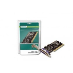 CONTROLLER PCI 1P PARALLELA 2P SERIALI 9 POLI (DS-