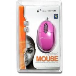 MOUSE TM-2023-PURPLE VIOLA USB