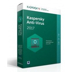 SOFTWARE ANTIVIRUS 2017 1 CLNT (KL1171TBAFS-SLIM)